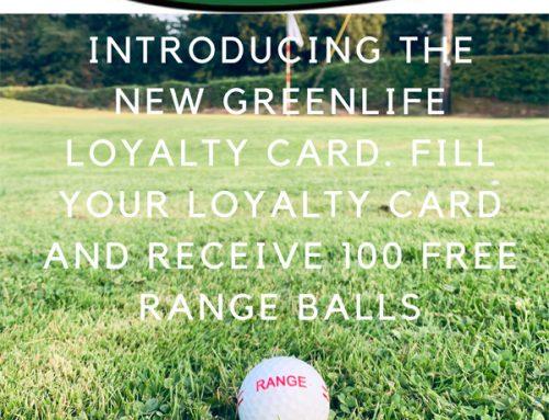 Greenlife Loyalty Card